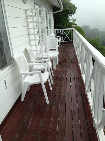 Brenton Beach House: balcon