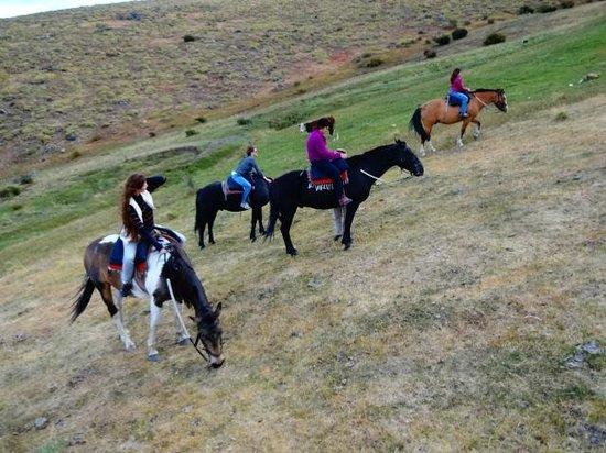 Calafate Mountain Park: cavalgada