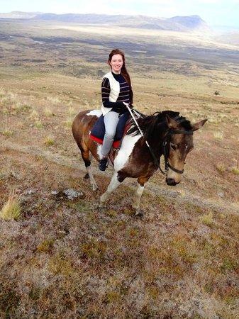 Cerro Frias: cavalgada