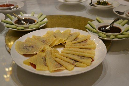 Chijmes Lei Garden Restaurant : 北京ダック