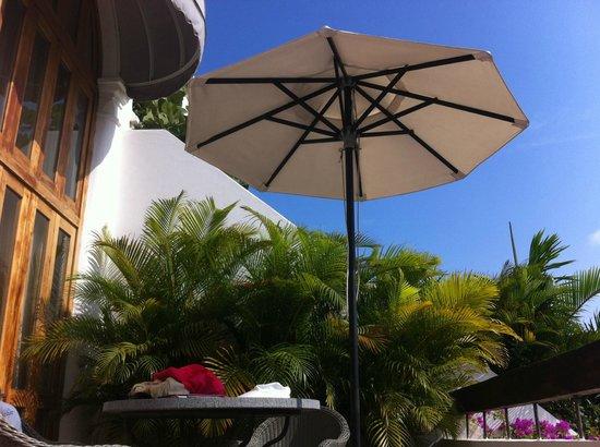 Hotel Casa San Agustin : nossa varanda