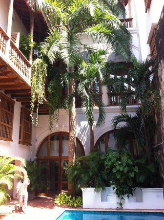 Hotel Casa San Agustin : quartos que dão para a piscina