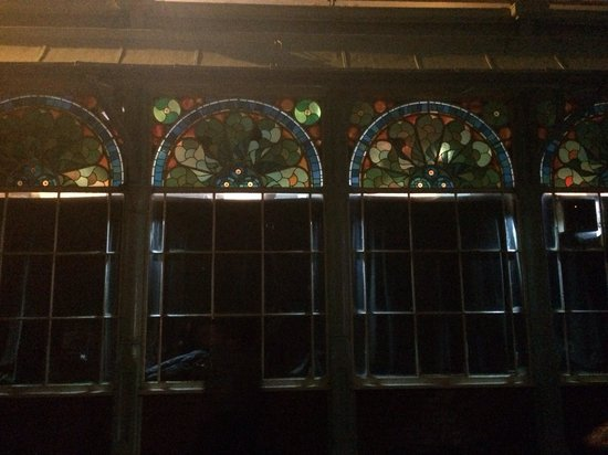 Concorde 2: The stained glass windows from outisde