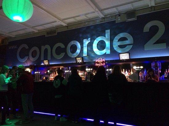 Concorde 2: Main bar area