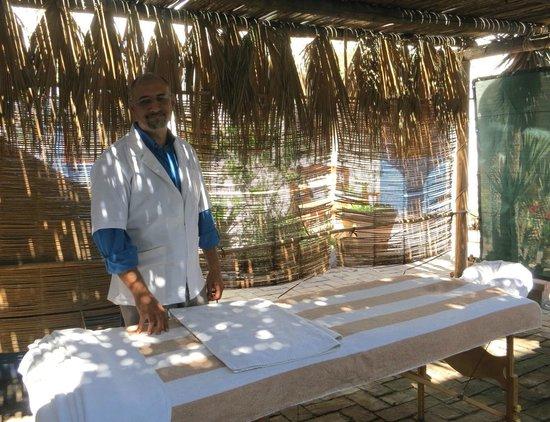 El Angel Azul Hacienda: Massage if you want