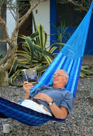 El Angel Azul Hacienda: Happy guests