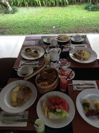 Villa Jerami & Spa: Yummy Breakfast!!