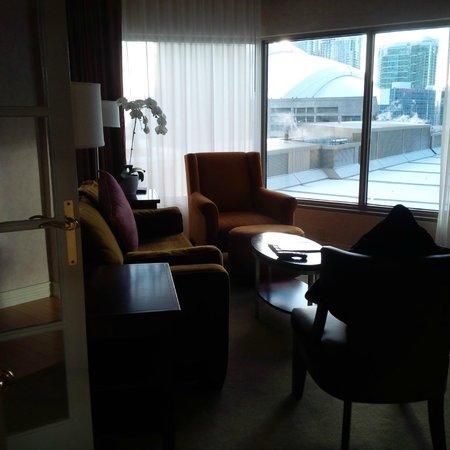 InterContinental Toronto Centre: Living room