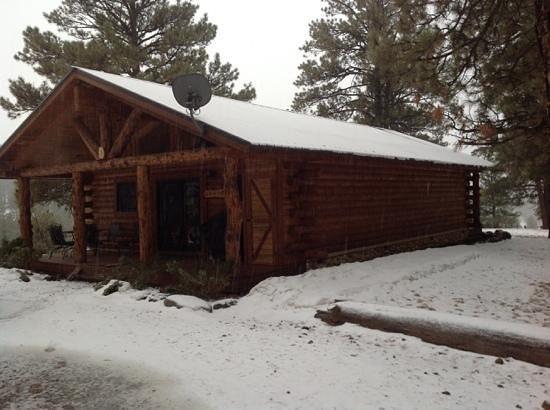 Cabins at Hartland Ranch: Hartland Ranch - The Hitchin' Post
