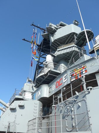 Battleship USS Iowa BB-61: This ship could possibly be brought back into service.