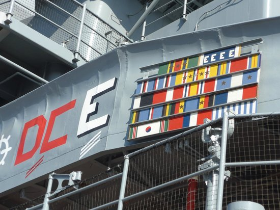 Battleship USS Iowa BB-61: Did you know that battleships earned ribbons, too?