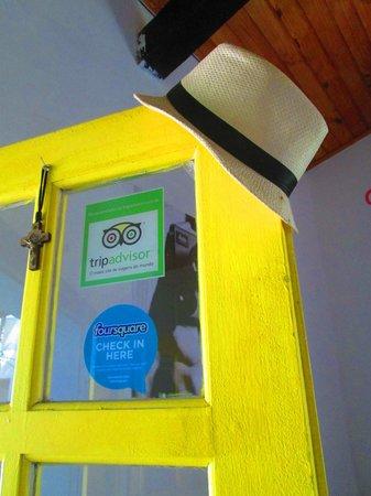 Art Beach Hostel Buzios : Entrance door