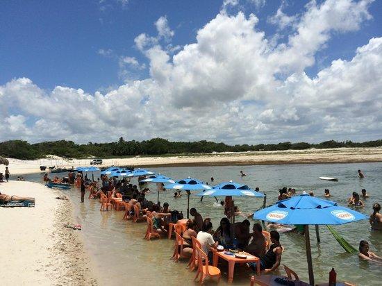 Passeio de bugue as Lagoas Azul e Paraiso: Lagoa Azul