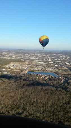 Ace High Ballooning: In flight