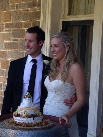 Country Pleasures B & B : Wedding 'Cheese Cake'