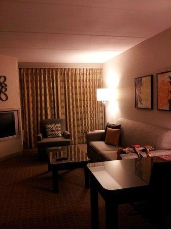 Sheraton Suites Orlando Airport: Living