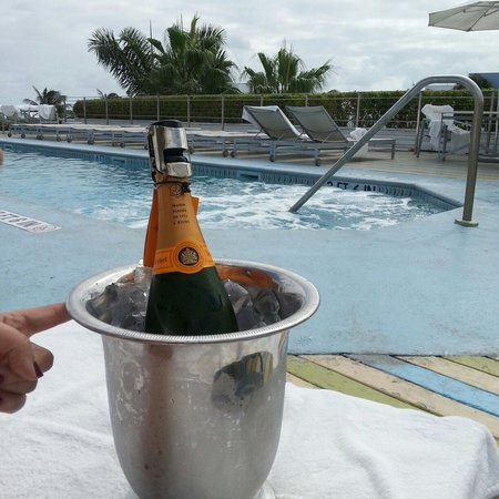 The Hotel of South Beach: Bubbly