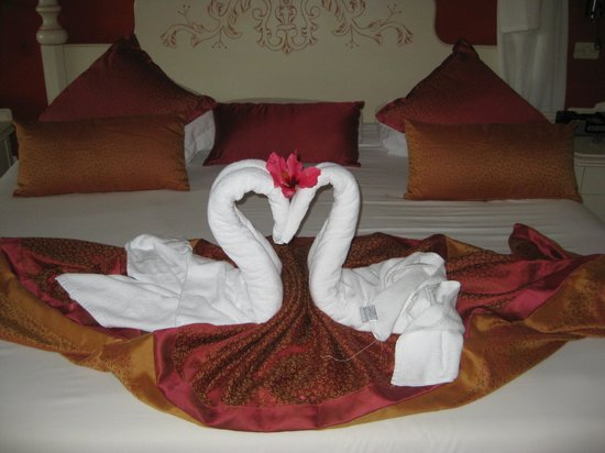 Iberostar Varadero: Our towel art from our maid