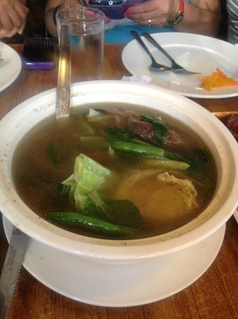 Gerry's Grill: beef soup