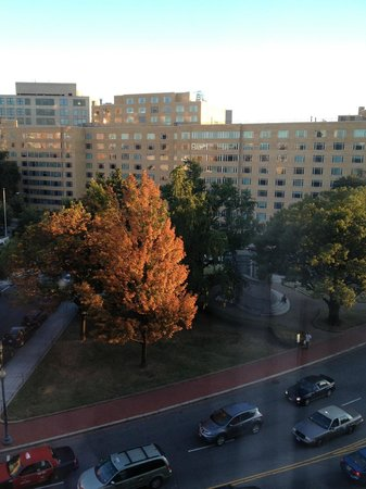 DoubleTree Hotel Washington DC : DoubleTree, Washington DC, view from room