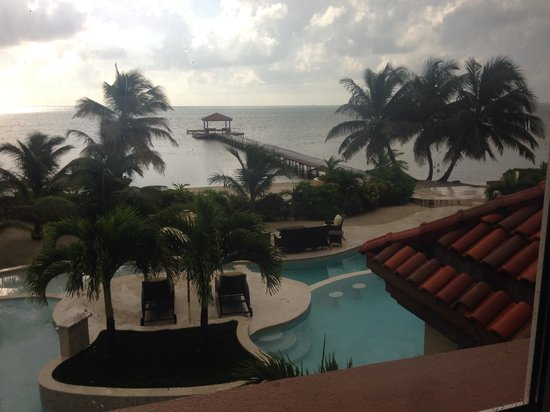 Belizean Cove Estates: View from bedroom!