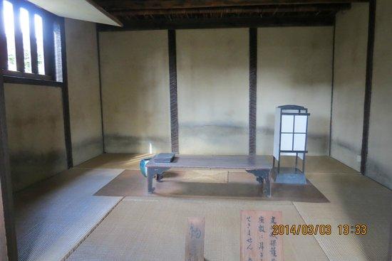 Basho Birthplace : 釣月軒内部