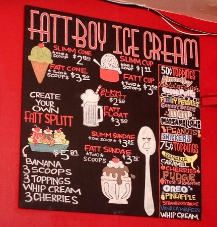Fattboy Burgers & Dogs: Desserts