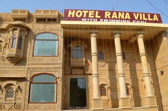 Treebo Rana Villa : Hotel Rana Villa's Front Look