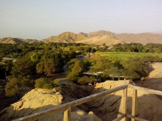 Chiclayo, Peru: Huaca rajada