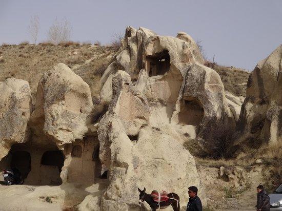 Selime Monastery: カッパドキアの奇岩
