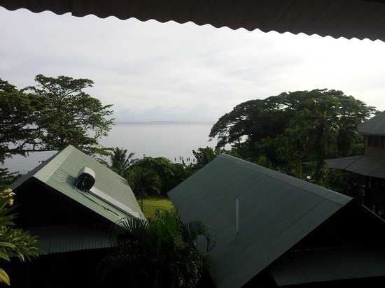 Kokopo Beach Bungalow Resort: View from the room