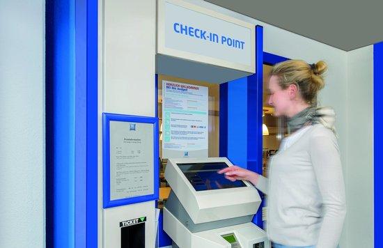 Ibis Budget Hamburg Quickborn: Check-in-Point