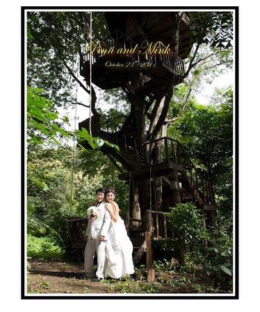 Rabeang Pasak Tree House Resort: Pre-wedding photo