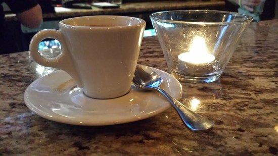 Pensare Italian Bistro: Espresso