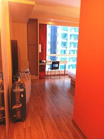 Ibis Hong Kong Central & Sheung Wan Hotel: Entrance of the Handicapped room