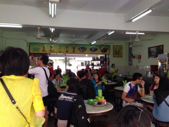 Kedai Kopi Yee Fung: The meal upon checking in