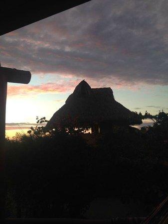 Troncones Point Hostel: Vista desde la terraza