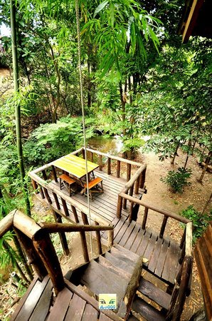 Rabeang Pasak Tree House Resort: A view from Jackfruit House
