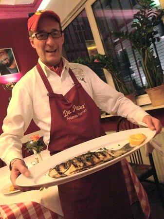 Ristorante DA Papa': Sea Bass..delicious & tender..