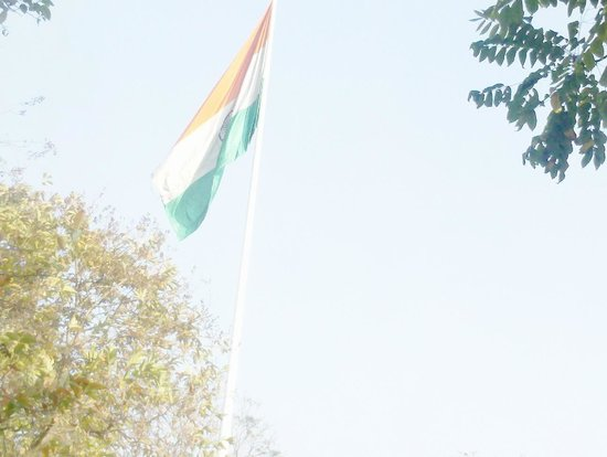 Parque Laisure Valley: Indian flag at Leasure valley.
