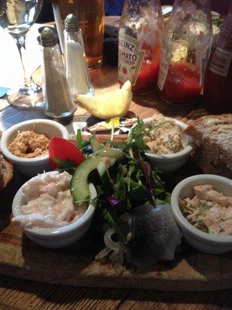 The Jolly Fisherman Pub: Jolly Fishboard