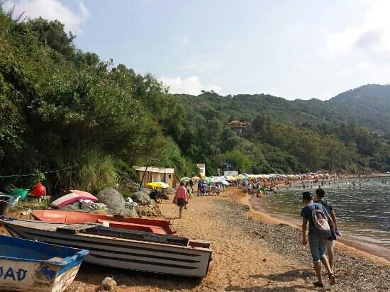 جيجل, الجزائر: la plage rouge a jijel