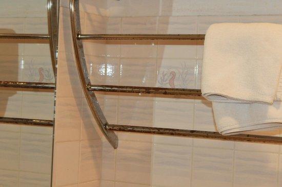 Splendid Resort at Jomtien : ржавый полотенцесушитель