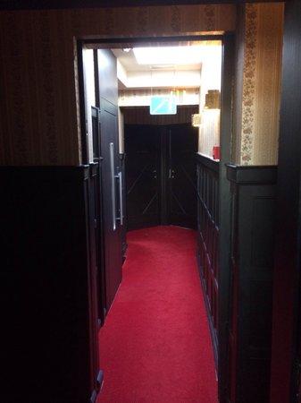 Hotel Le Berger : Cozy corridor