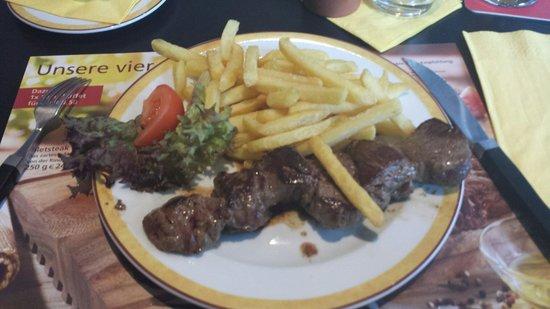 Maredo Steakhouse : Manzo senza salse!
