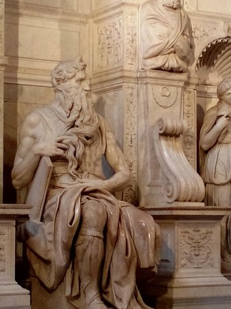 Kennedy Hotel: moses by michelangelo