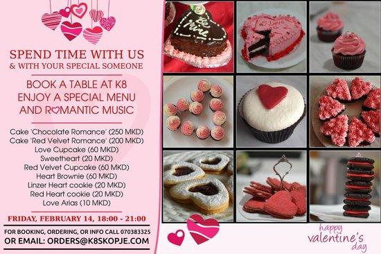 K8: Valentine's treats