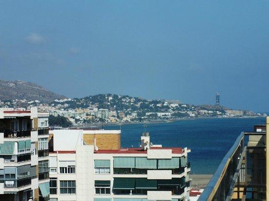 Hotel MS Maestranza: Вид на город с террасы