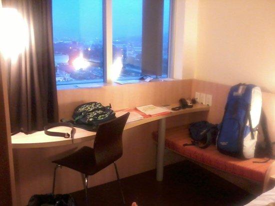 habitación piso 12 Ibis Medellin