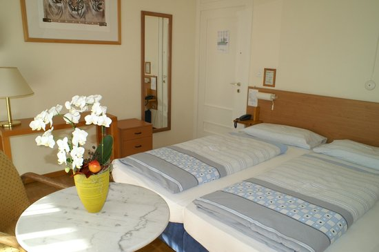 Hotel Atlantico: Twin bed room